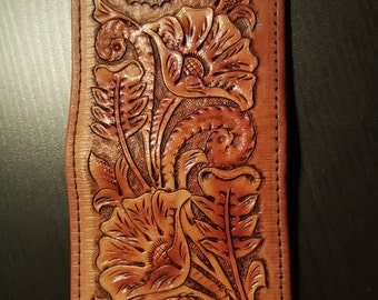 Handtooled Wallet