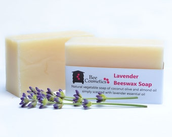 Lavender Beeswax Soaps  Min. 95g