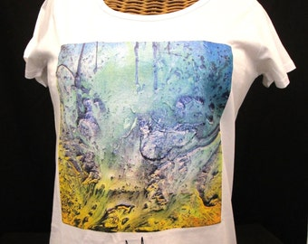 Womens Tee - 'Iguacu Falls' - THANKS ART APPAREL.