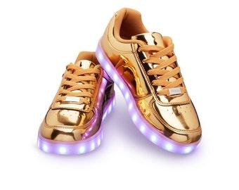 Partyshoe sneaker Gold