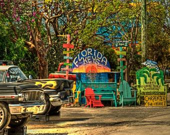 Big Ass Chair, Key Largo, Florida Keys
