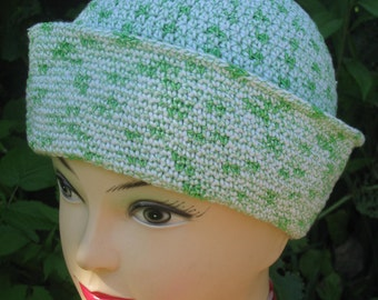 Hat Sailor crochet , summer hat, hat openwork, hat cotton, gift for men , women, child