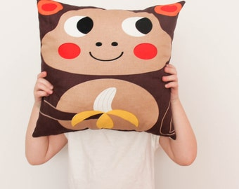 Little Monkey pillow