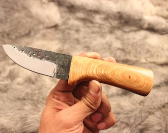 Hand Forged From High Carbon steel Camping Groomsman Gift knife