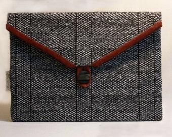 iPad sleeve, iPad pouch, Clutch bag