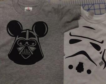 Star wars toddler shirt