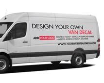 Design Your Own Custom Van Truck Decal - Custom Vehicle Decal - Vehicle Signage - Van Logo - Truck Logo - Van Sticker - Truck Sticker