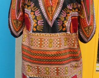 African Oversized Hoodie - Omar Oversized Hoodie - Dashiki Hoodie - Unisex - Dashiki - Festival Hoodie - Wax Hoodie