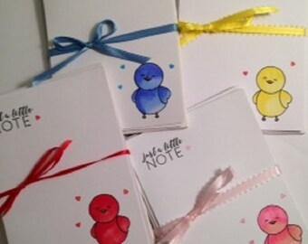 Bird Notecard Set