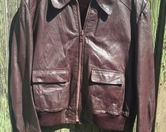 Chocolate Leather Jacket