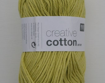 Rico Creative Cotton Aran Light Pistachio 044