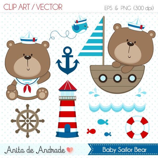 Marine clip art | Etsy