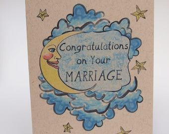 Greeting Card- Congratulations on your marraige