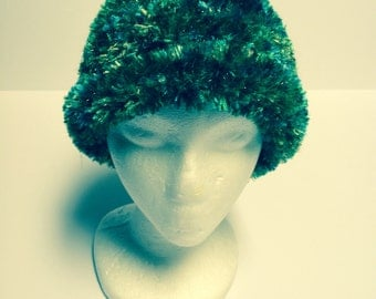 Boa hat (with matching cowl available)