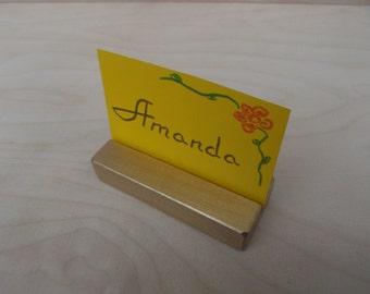 10 Golden holders,Place card holders,Table number holders,Menu holder,Wedding decor,Cafe,Photo props,Wedding,Rustic,Gold holders,Holders
