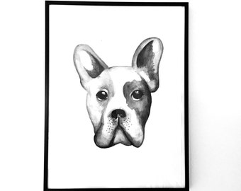 Frenchie Print