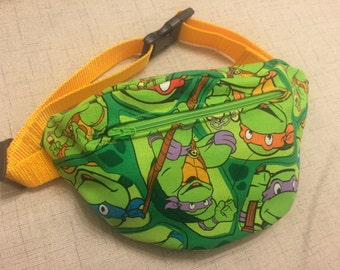 vintage ninja turtles fanny pack