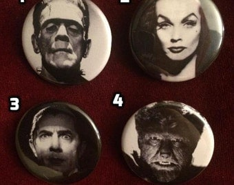 Horror Icons Buttons