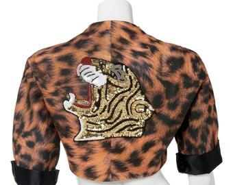 """1S&3M Cotton """"Roar"""" Bolero Jacket"""