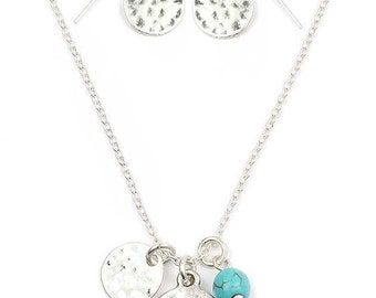 Be Thankful Pendent/Earring Set