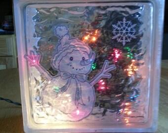 Snowman Block Light