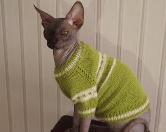 Sweater for a Cat, Sweater for a Dog, Sweater for a Sphynx, Cat Clothing, Dog Clothing