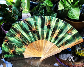 Cactus Phish Hand Fan
