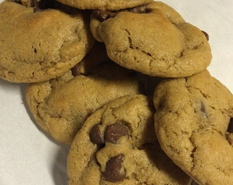 Half Dozen Chocolate Chip Cookies