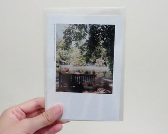 3 Choices of Beautiful Polaroid Style Greeting Cards for Any Occasion - The Little Things in Life #2