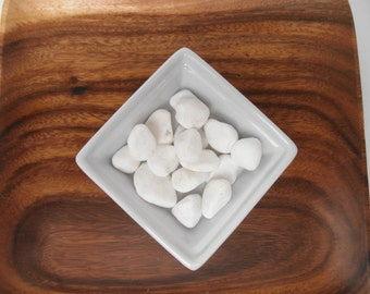 River Pebbles - White