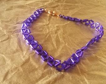 """8"""" Purple Tri-Stitch"""