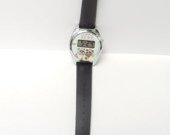 Star Wars Ewoks Dial Return of The Jedi Bradley Time Watch 1983 Working