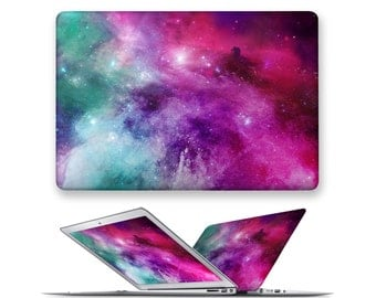 macbook air case rubberized front hard cover for apple mac macbook air pro 11 12 13 15 galaxy universe