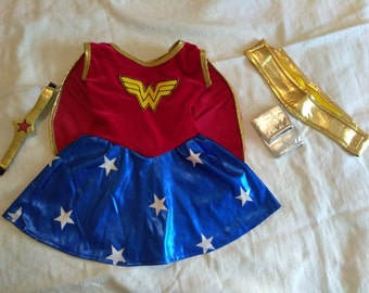 Toddler Baby Girl Wonder Woman Costume