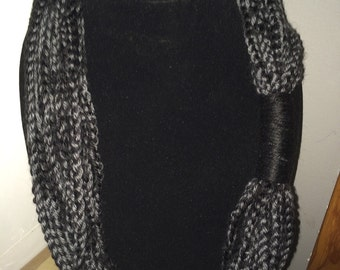 Crochet Infinity Scarf/Chain Scarf Made to Order
