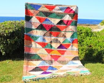 carpet kilim boucherouite 242 x 153 cm k14