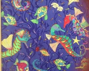 Avlyn Fabrics      Seahorses