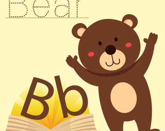 Illustrator of Bear vocabulary