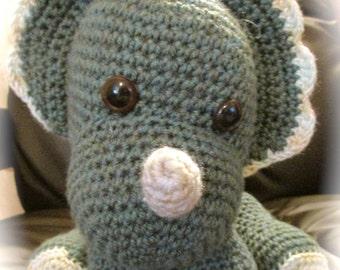 amigurumi soft toy crochet dinosaur