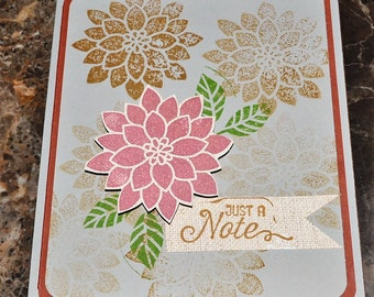 Just a note hand made cards