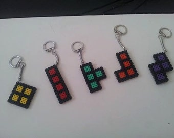 Tetris keychain