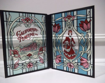 California Perfume Company Stained Glass