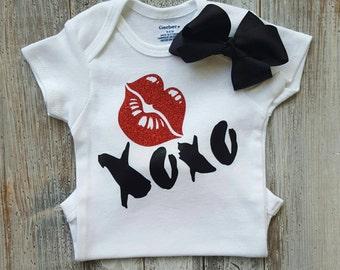 Onesie, Onesies, baby girl onesies, baby girl clothes, cute onesies, baby onesies, baby clothes, baby girl, baby shower gift, glitter onesie