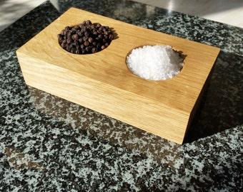 Salt and Pepper Pinch Pot