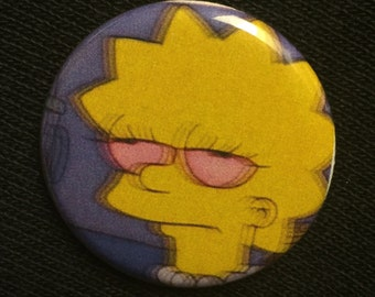 High Lisa Button/Pin