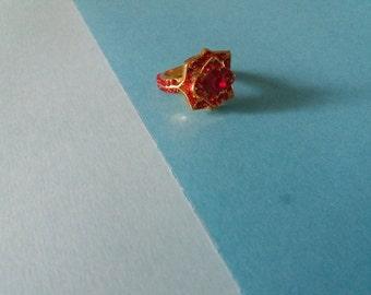 Gryffindor's ring/ Anello della casata Grifondoro