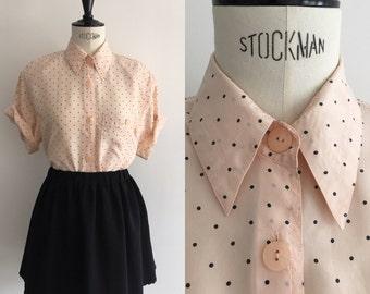 Shirt silk Vintage