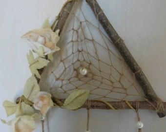 Woodland Witch Triangle Dreamcatcher