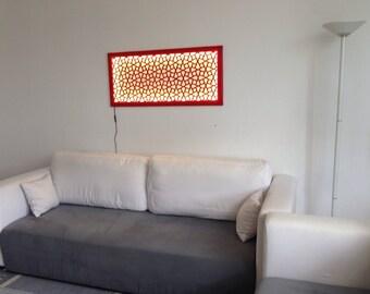 geometrische lampe etsy. Black Bedroom Furniture Sets. Home Design Ideas