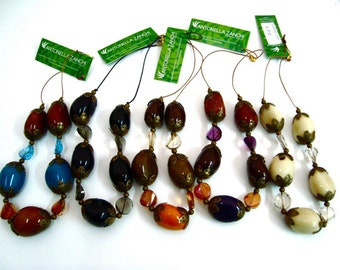 Tagua Tribal Necklace